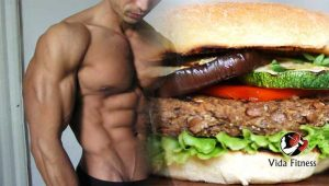 Hamburguesa fitness