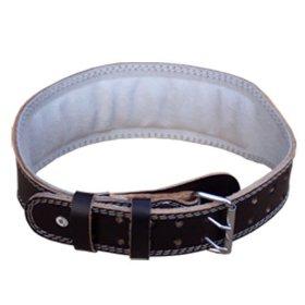 Cinturón lumbar de cuero