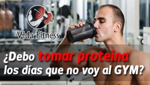 tomar proteína los días de descanso