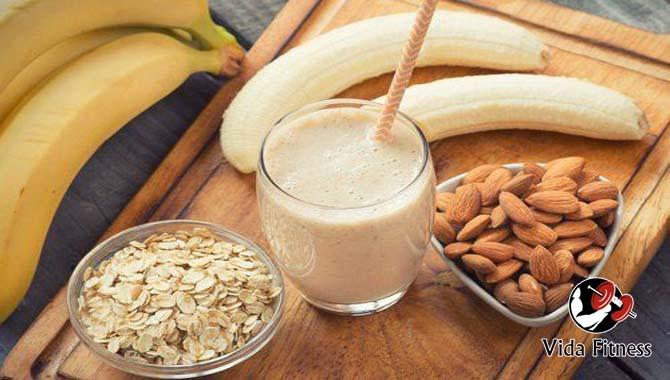batido de proteinas casero para ganar masa muscular
