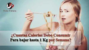 cuantas calorias debo consumir