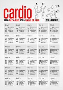 Rutina de ejercicios para bajar de peso rapido - Vida Fitness