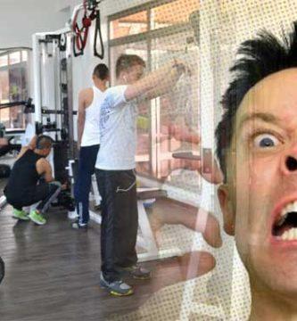 momentos mas molestos en el gimnasio
