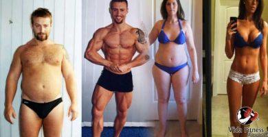 Transformaciones del gym