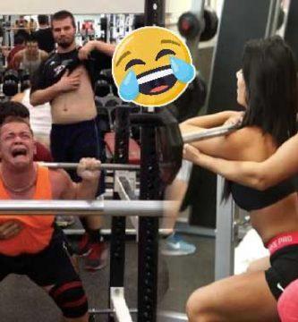 momentos graciosos en el gym