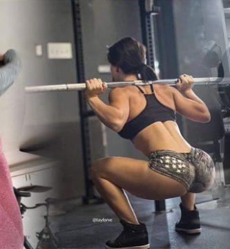 chicas nalgonas del gym