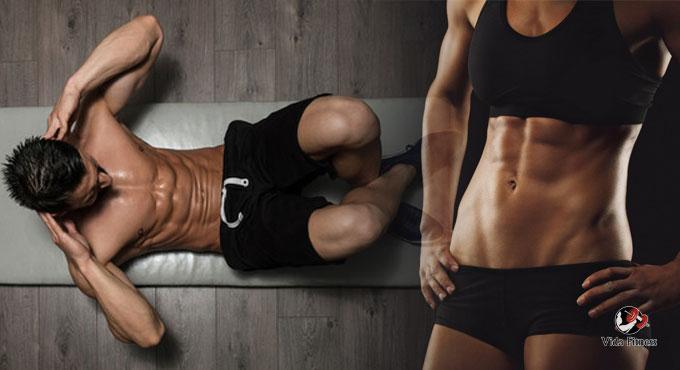 errores al entrenar el abdomen