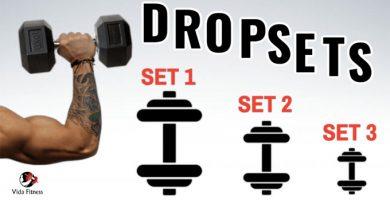 drop sets para ganar musculo