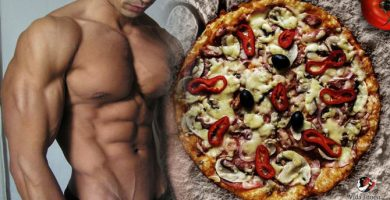 Como preparar pizza proteica con base de pollo
