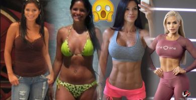 Michelle Lewin Antes y Despues