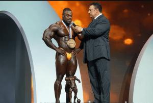 Brandon Curry, Mr. Olympia 2019