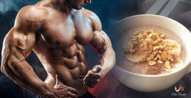 desayuno para los dedicados al gym