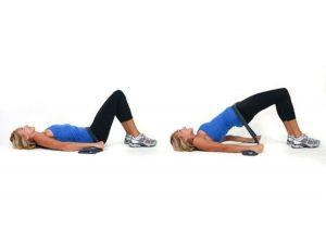 hip thrust con banda elastica