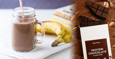 Batidos Proteicos de Chocolate
