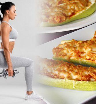 Receta Fitness De Calabacines Rellenos